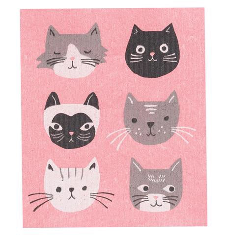 Swedish Dish Cloth - Cat's Meow