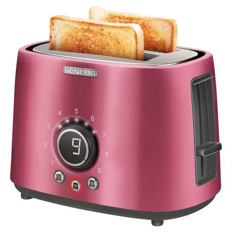 Sencor 2 Slot Toaster - Red