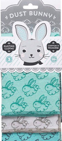 Dusting Cloths - Dust Bunny Set of 3