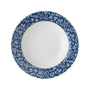 Laura Ashley Blueprint Rimmed Bowl - Sweet Allysum