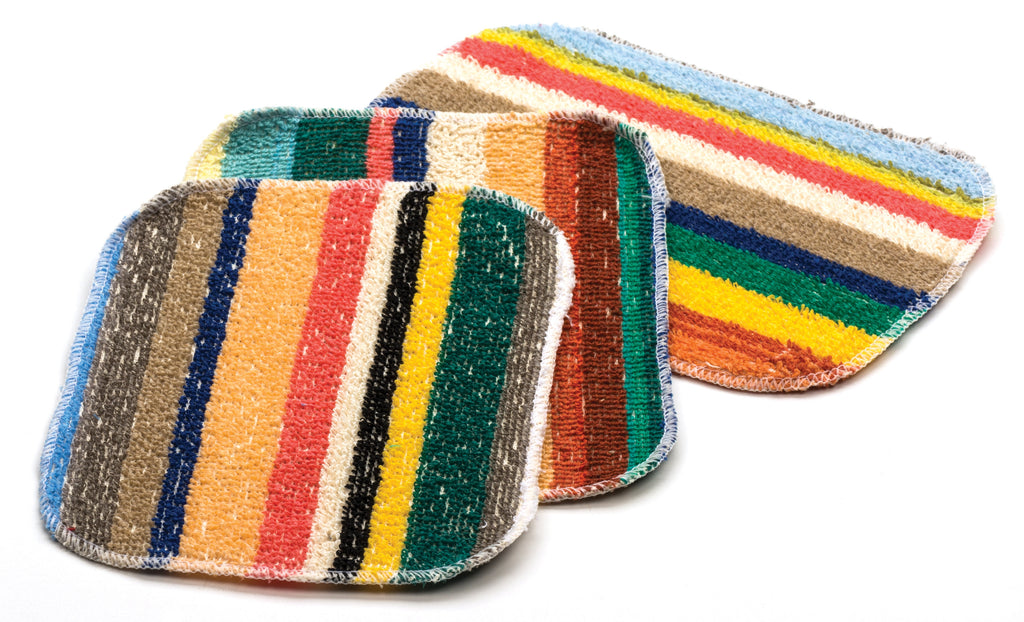 Flat Pot Scrubbers - 3 Pack