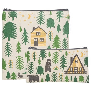 Reusable Snack Bag - set of 2 Wild & Free