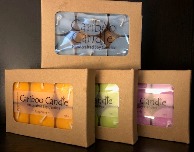 Candle Tealights - Lilac & Lillies