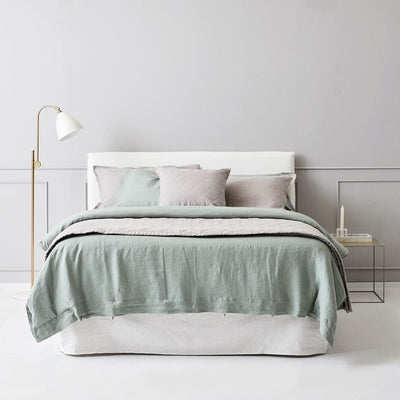 Everything Bed Linen Set- Agave/Pebble - Paradoxe Linen