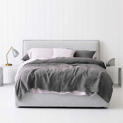 Everything Bed Linen Set- Orchid/Storm - Paradoxe Linen