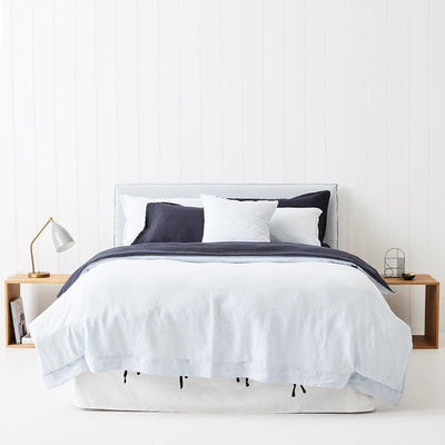 Everything Bed Linen Set- Ink/Sky Blue - Paradoxe Linen