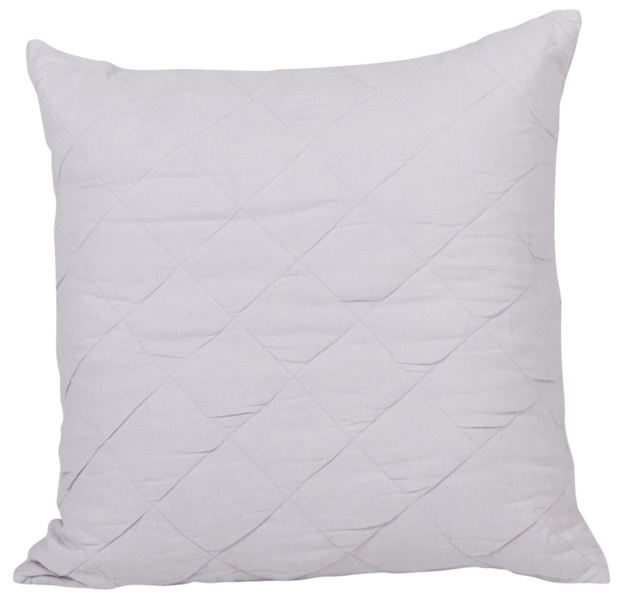 Diamond Quilted Cushion Cover- Orchid