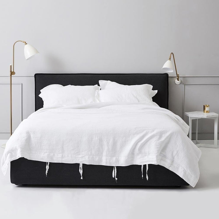 Everything Bed Linen Set- Snow - Paradoxe Linen