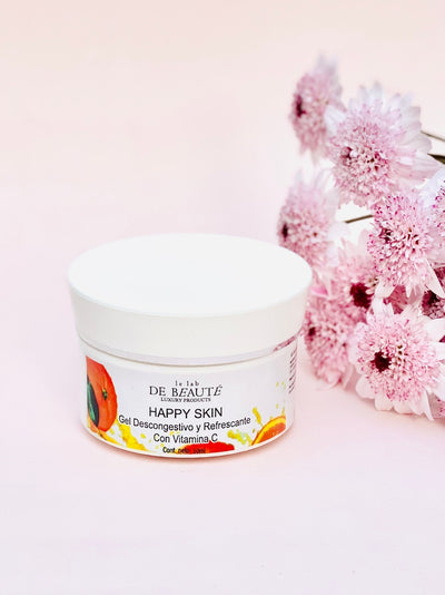 Happy Skin - Gel Descongestivo y Refrescante con Vit C