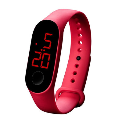 LED Electronic Sports Luminous Sensor Watches