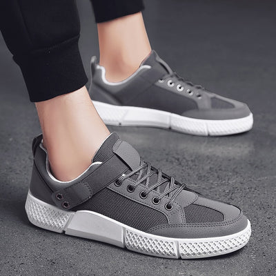 Breathable Lace-up Air Mesh Sneakers