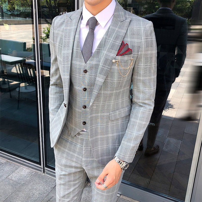 British Three-piece Suit