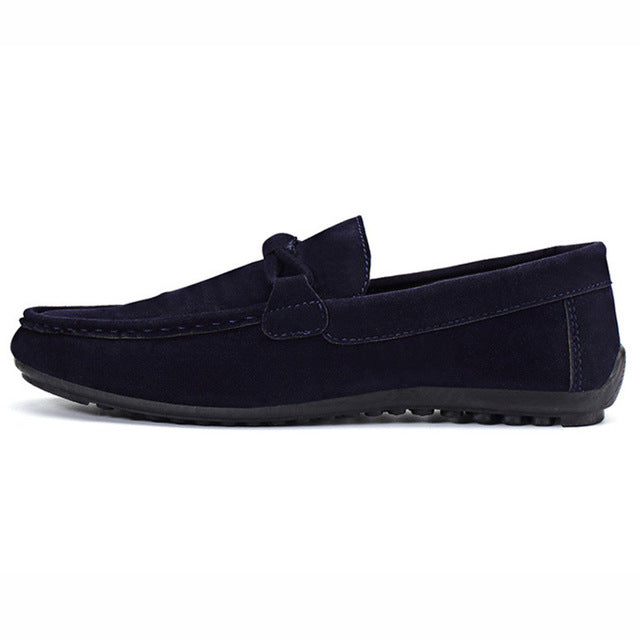 Slip-on Flock Casual Shoes