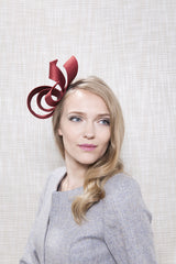 Gina Foster Millinery - Cuprite - Small Ribbon Fascinator