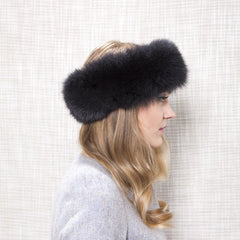 Gina Foster Millinery - Galena - Fox Fur Band