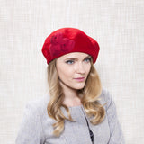 Gina Foster Millinery - Jasper - Medium Soft Wool Beret Hat