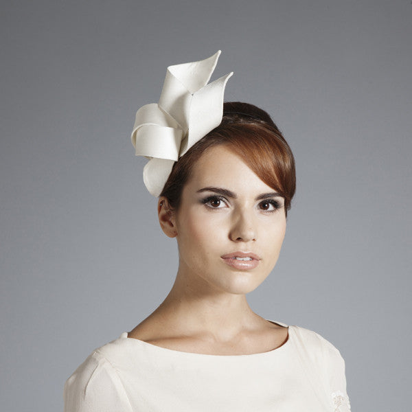 Gina Foster Millinery - Amelie - Small Ribbon Headpiece