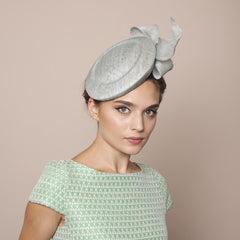 Gina Foster Millinery - Andora - Medium Cocktail Hat with Bow