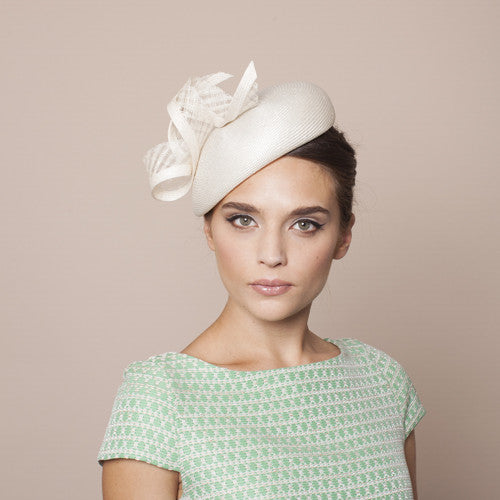 Gina Foster Millinery - Asti - Medium Beret Hat with Waffle Twist