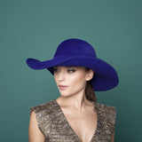 Courchevel - Large Felt Brimmed Hat