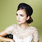 Gina Foster Millinery - Dianthus - Small Pillbox Hat