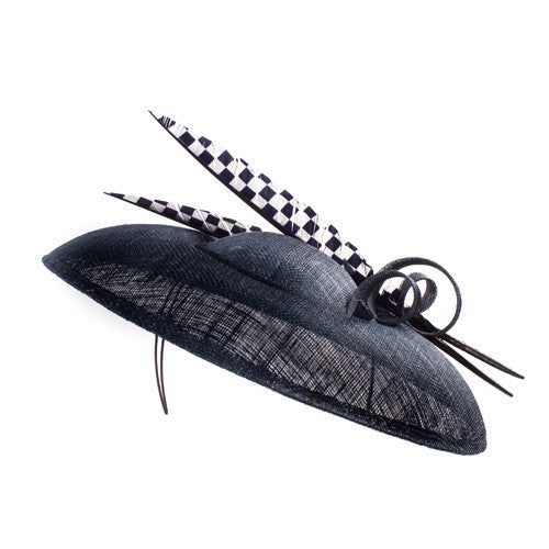 Gina Foster Millinery - Pisa - Medium Feather Coulis Hat