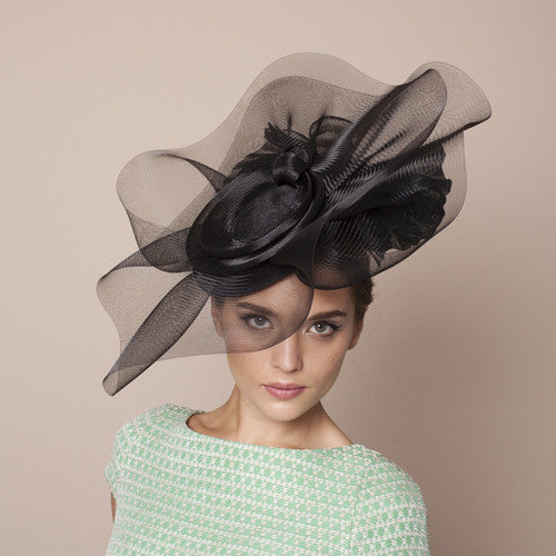 Gina Foster Millinery - Ravello - Large Coulis Crin Hat