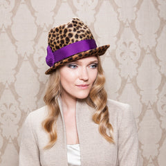 Gina Foster Millinery - Willow - Felt Trilby Hat