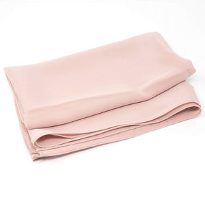 Blush Pink | Silk Textured Crepe