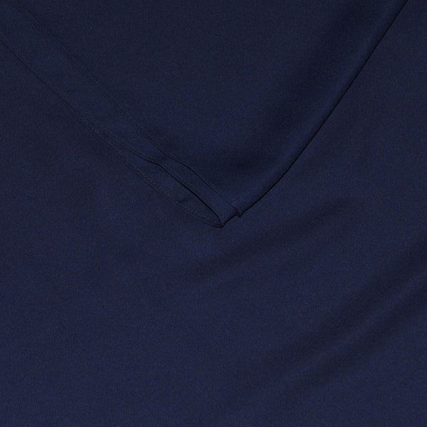 Navy Blue | Silk Georgette
