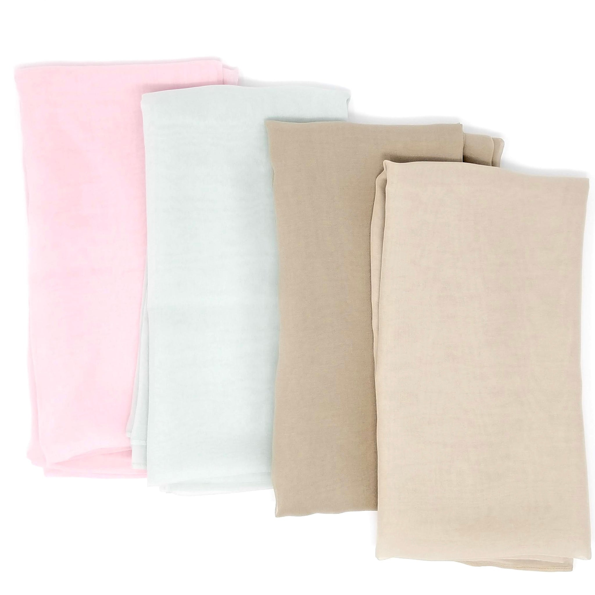 Square Solids | Silk Chiffon