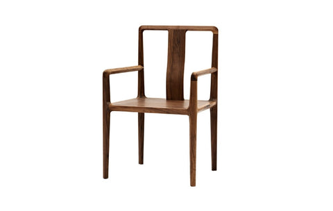 Simple Dining Chair with armrests