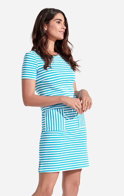 Carter Cotton Dress Striped