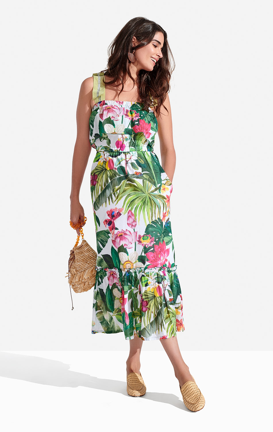 Clementine Dress Tropic