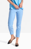 Georgie Crop Pant Solid Coast