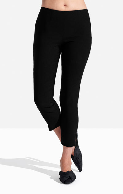 Georgie Crop Pant Solid Jet