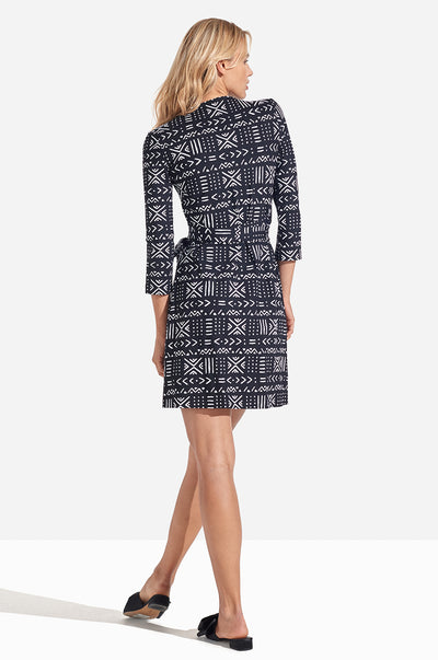Louise Dress Mudcloth