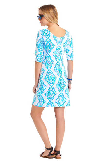 Kilpatrick Dress in Medina Sky Blue