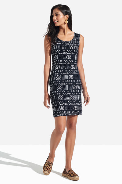 Smitty Dress Mudcloth