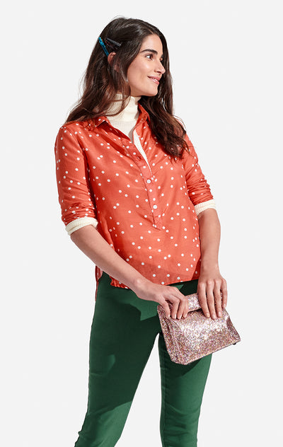 Sunna Top Polka Dots