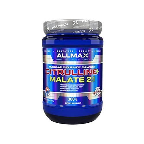 Allmax - Citrulline + Malate 2:1 300G - Shop Santé