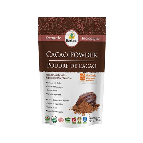 Ecoideas - Cacao Powder 227G - Shop Santé