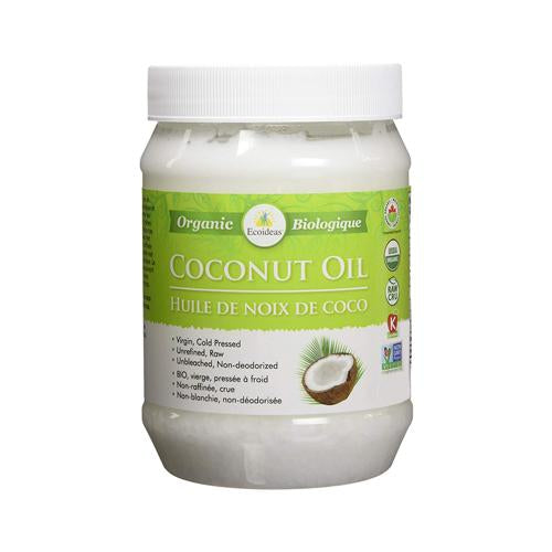 Ecoideas - Coconut Oil 444ml - Shop Santé