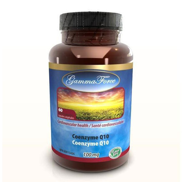 Gamma Force- Coenzyme Q10 Naturel 100 mg 60 capsules - Shop Santé