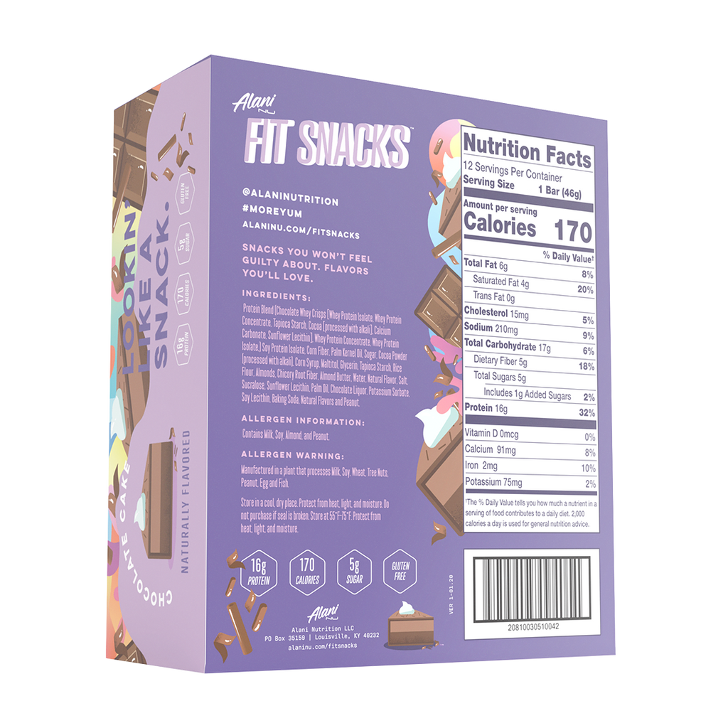 Alani Nu - Fit Snacks Protein Bar - Shop Santé