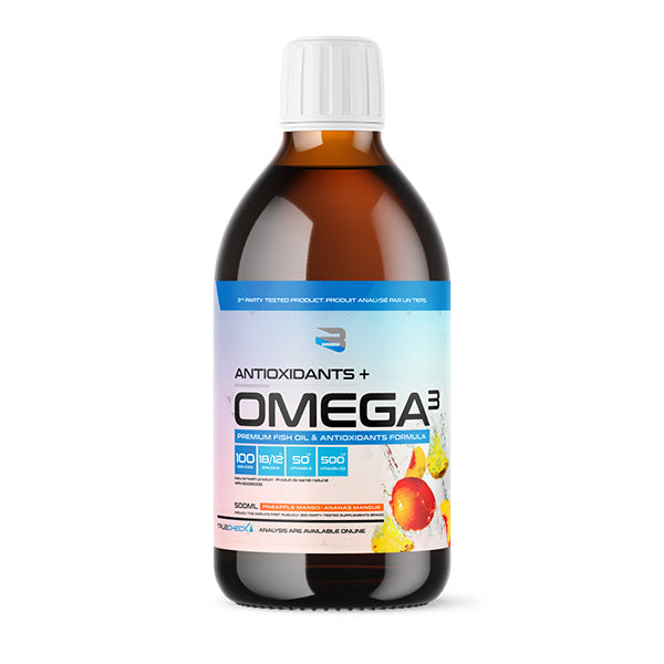 Believe Supplements - Antioxydants + Omega 3 500ml - Shop Santé