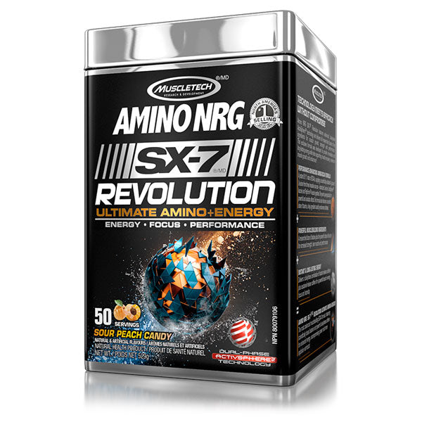 Muscletech - Amino NRG SX-7 50 portions - Shop Santé