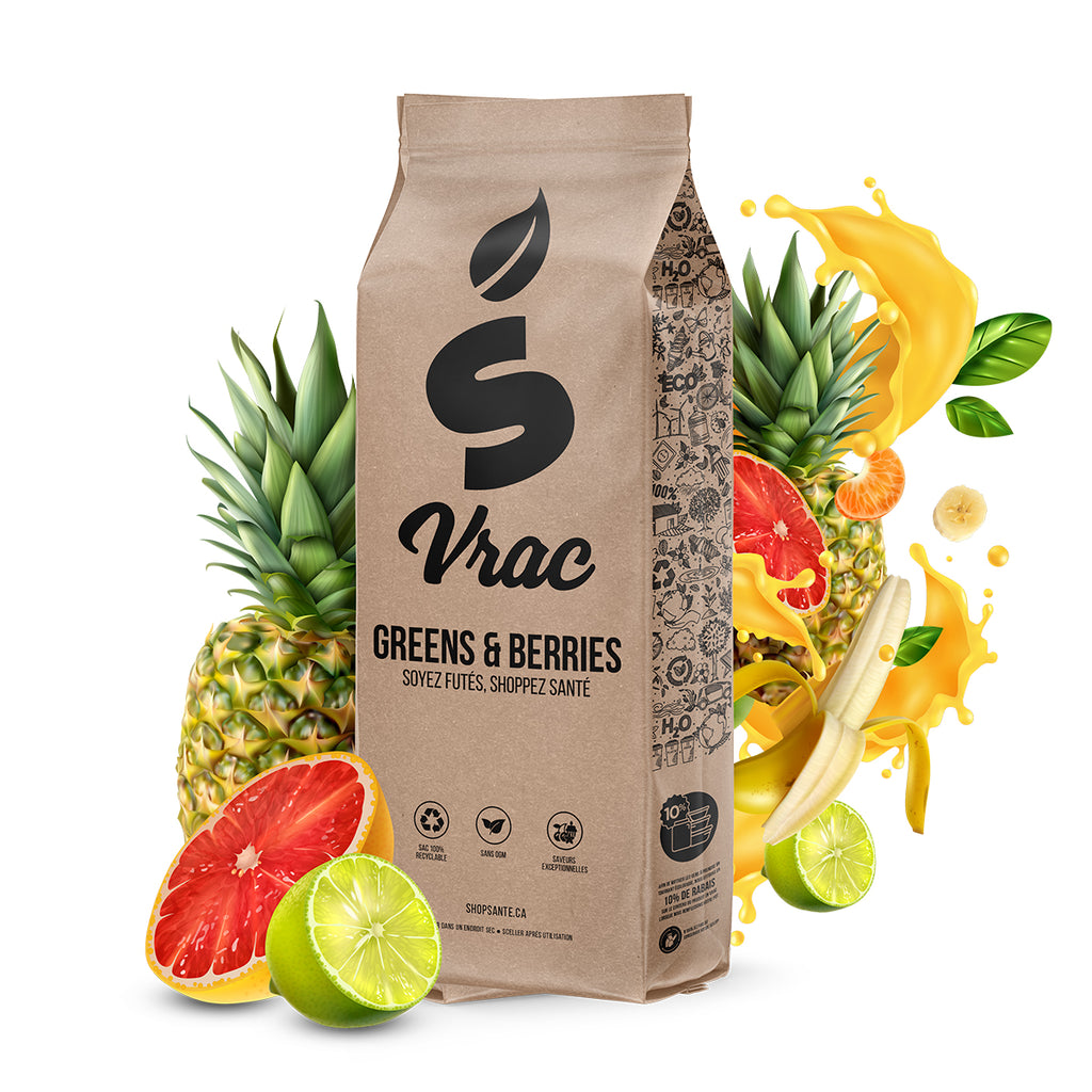 VRAC - Greens & Berries (100g) - Shop Santé