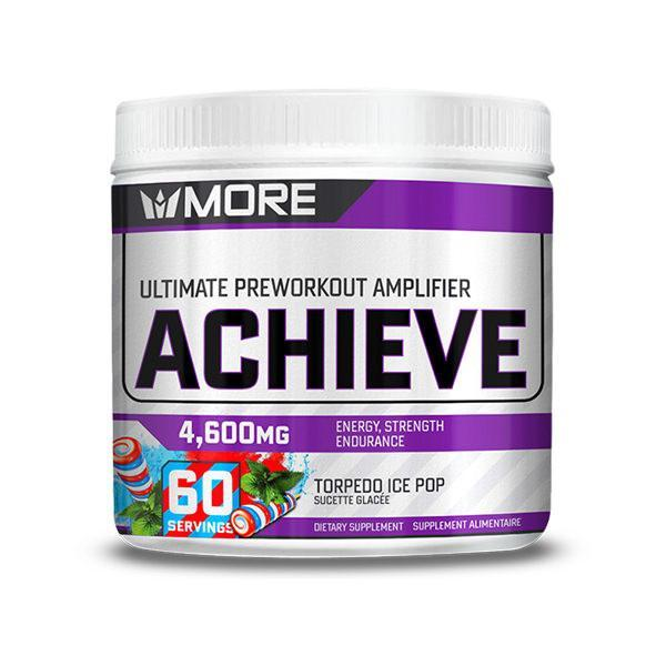 More Supplements - Achieve Pre-Workout 60 servings - Shop Santé