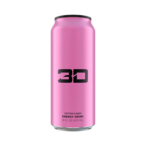 3D - Energy Drink 473mL - Shop Santé
